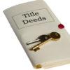 Title Deeds and keys